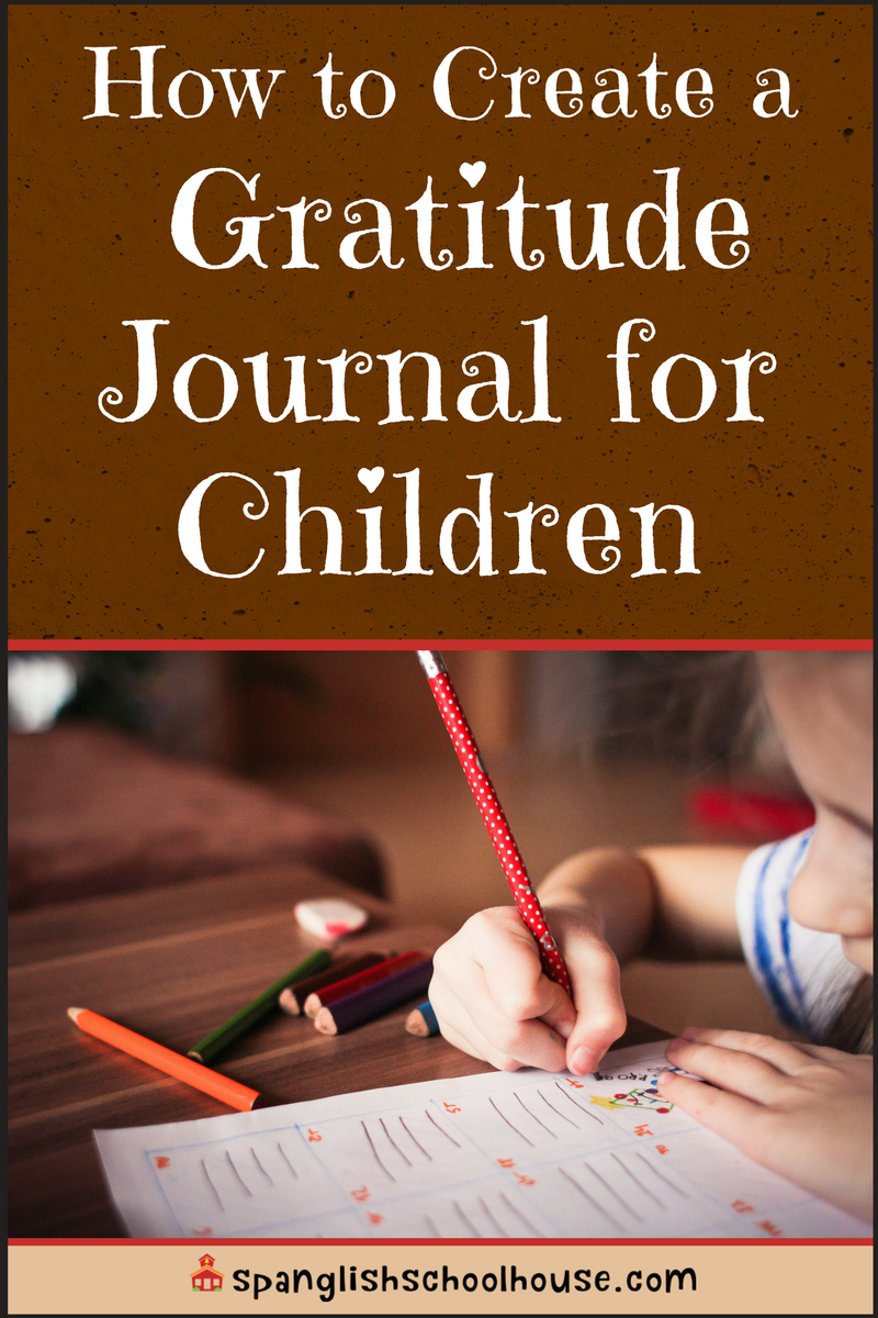 How to Create a Gratitude Journal for Children