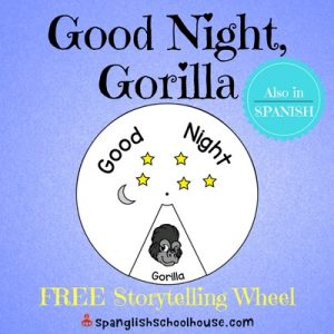 Good Night Gorilla FREE Storytelling Wheel