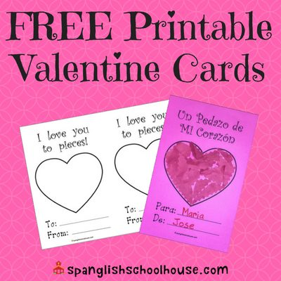 Love You to Pieces Free Valentine Cards