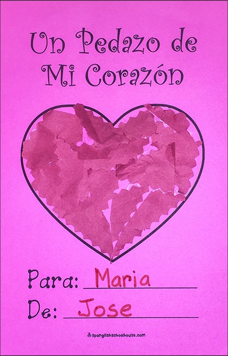 Put Away Clothes In Spanish ~ I love you to pieces free printable valentine cards