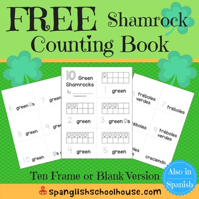 FREE Shamrock Counting Book