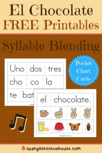 Spanish Syllable Blending Practice