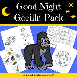 Good Night Gorilla Activity Pack - English Version