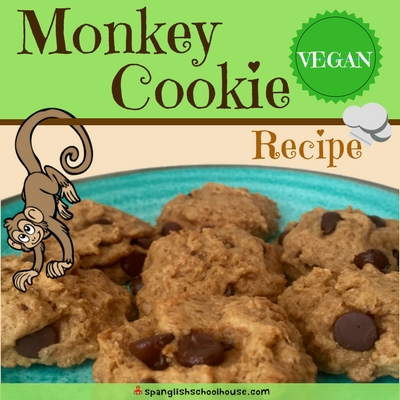 Monkey Cookie Recipe {Dairy-free, Vegan}