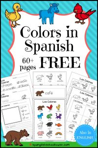 Free Spanish Colors Printables