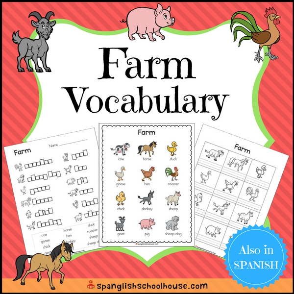 Farm Vocabulary