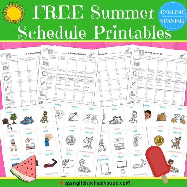 How to Save Your Sanity with a Summer Schedule