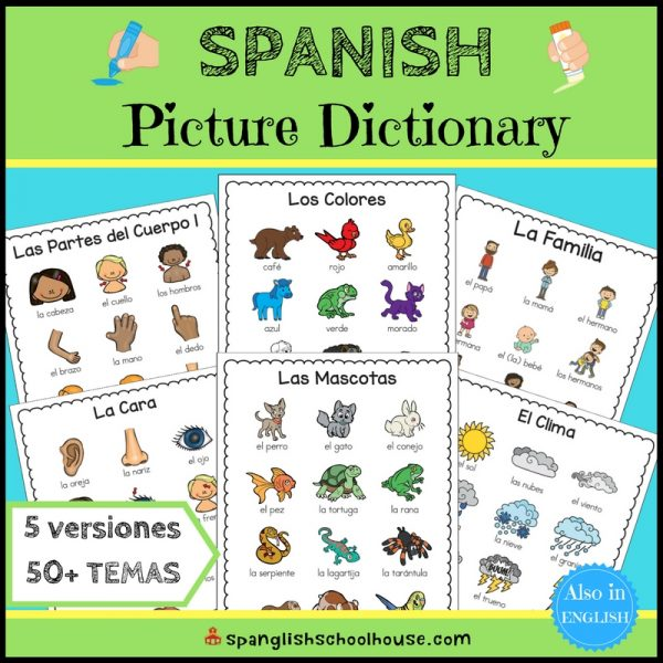 Spanish Thematic Picture Dictionary