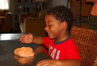 Pumpkin Pie Playdoh Recipe