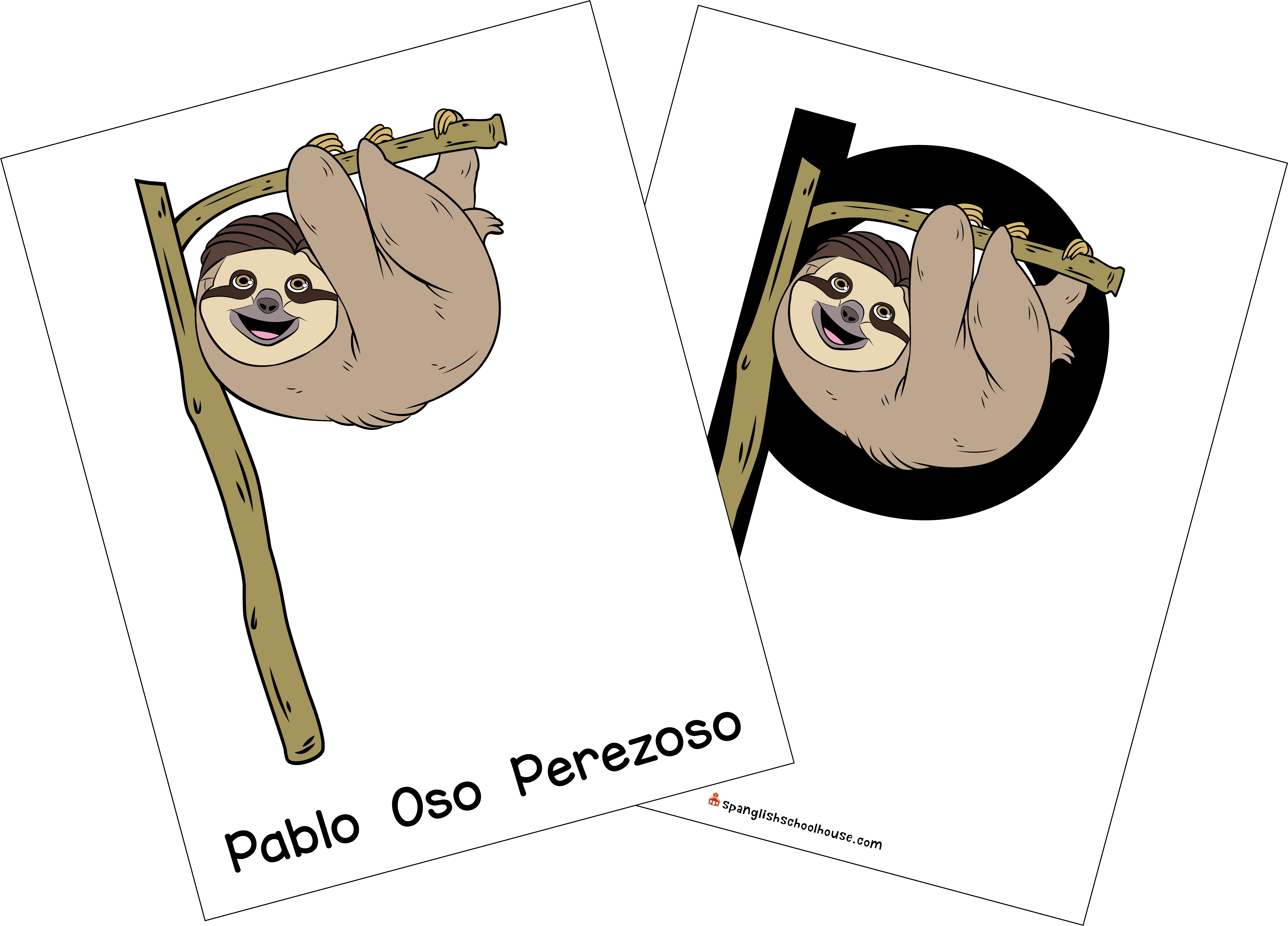 Learn the Spanish Alphabet with Pablo the Sloth