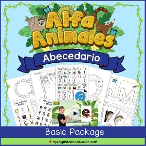 Alfa Animales Abecedario Basic Package