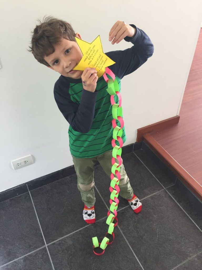 Examples of Christmas Countdown Chain in Spanish