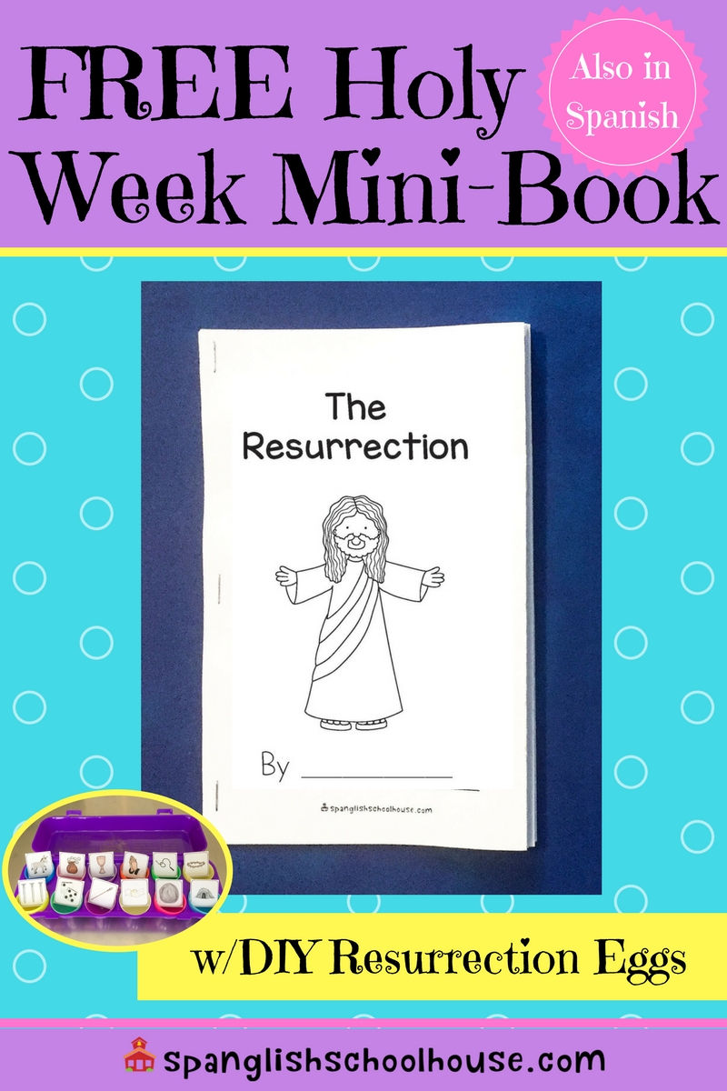 FREE Holy Week Mini-Book is the perfect supplement to Resurrection Eggs.