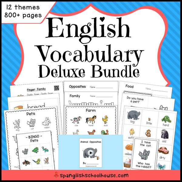 English Vocabulary Deluxe Bundle Final