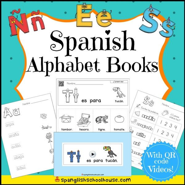 Children will love practicing sonidos iniciales with these Spanish Alphabet Flip Books!