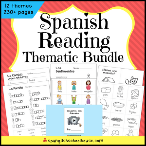 Spanish Reading Thematic Bundle