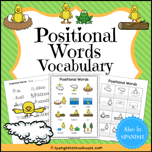 Positional Words in English Vocabulary