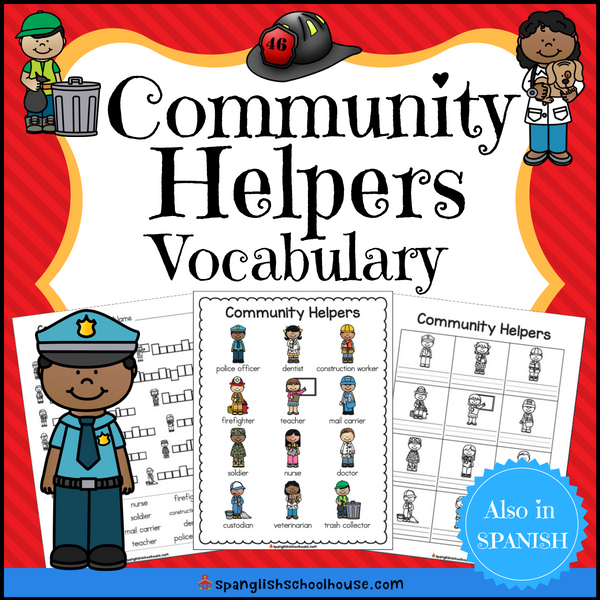 Community Helpers Vocabulary