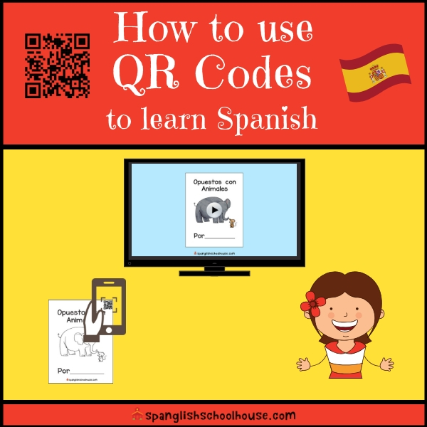 How to use QR Code in Spanish Class