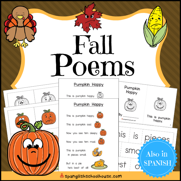 Fall Poems for Preschool and Kindergarten