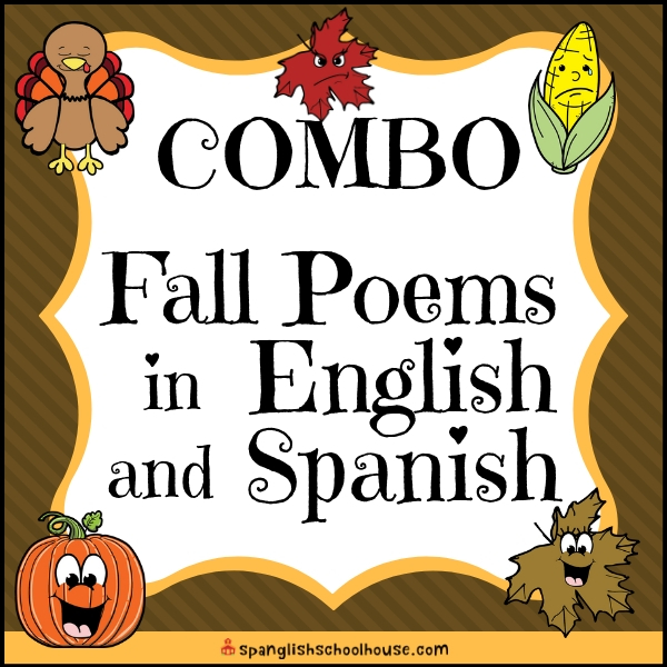 Fall poems for dual language