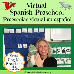 Join us for free virtual Spanish Preschool classes